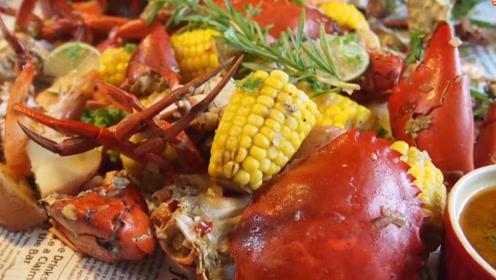 在家自制海鲜大餐,只花了80块钱,就吃出了几百块钱的饱腹感