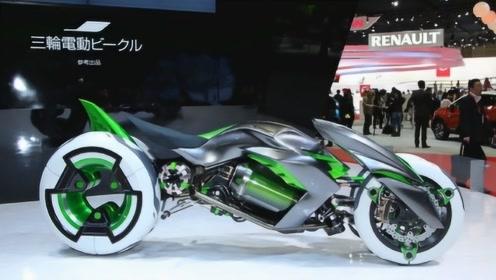 日本发明新型超级摩托车,外形炫酷还能任意变形,开上街太拉风!