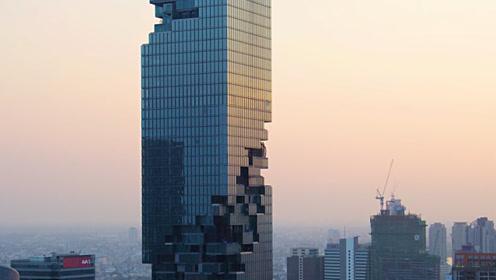 泰国第一高楼,耗资46亿被嘲笑像烂尾楼,到了晚上大家都闭嘴了
