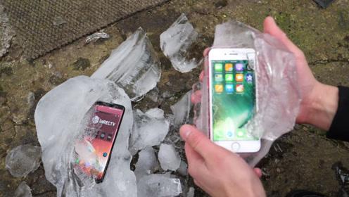 测试:在零下22°的环境中,苹果和三星还能正常使用吗?