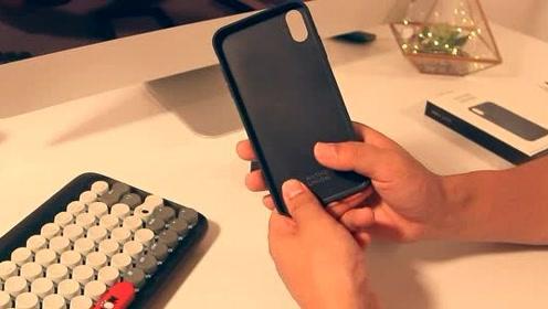 手机壳开箱:实用多功能,手感超级棒!