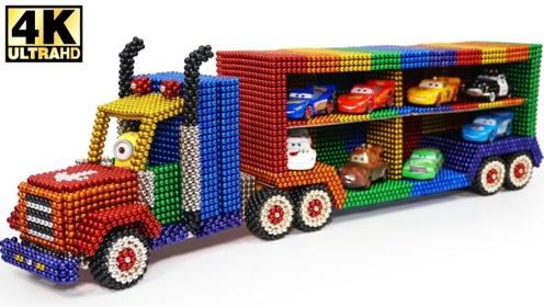 大神用巴克球制作运输车,里面还可以装下不少车呢!