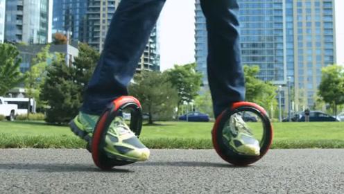 """国外发明""""新型代步工具"""",不用油不用电,踩上就能跑"""