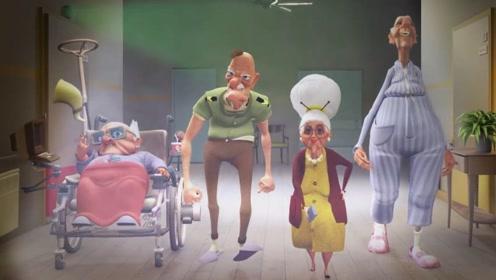 4个老人想要看电视,却被护士没收了遥控器,最后计划将其偷回!