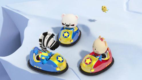 第二季 第48集 开极地赛车遇到阻碍