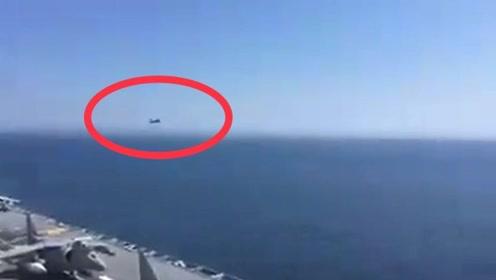 """北约航母演习 俄罗斯战机近距离低空掠过""""凑热闹"""""""