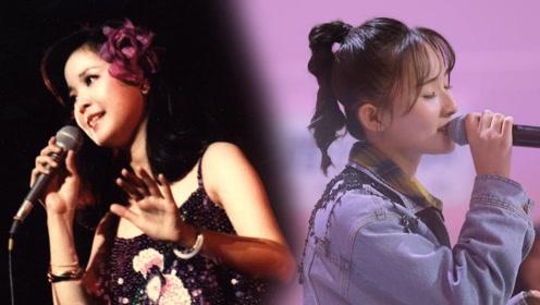 同曲PK:张钰琪《月亮代表我的心》致敬邓丽君,甜美清新令人醉