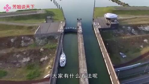 世界上最神奇的桥!船在桥上游,人在水下走,引全世界瞩目
