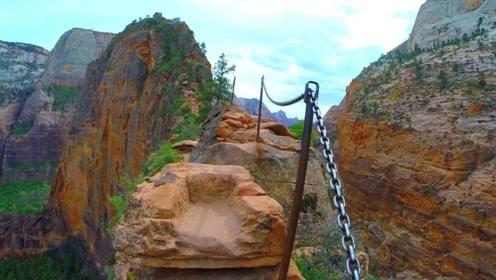 美国最可怕的一条小路,垂直落差超过500米,有7人在这里丧生