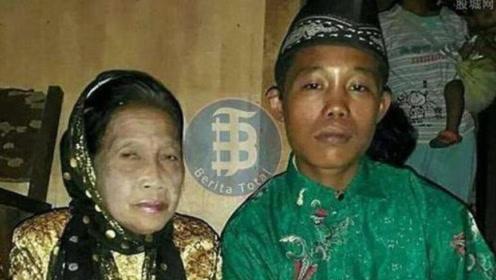 印度16岁男孩娶7旬老太,媳妇太漂亮怕被抢,干脆囚禁在屋里!