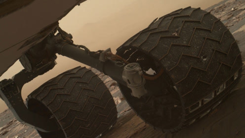 糟糕!好奇号出现故障,科学家:寿命可能只有1公里了!