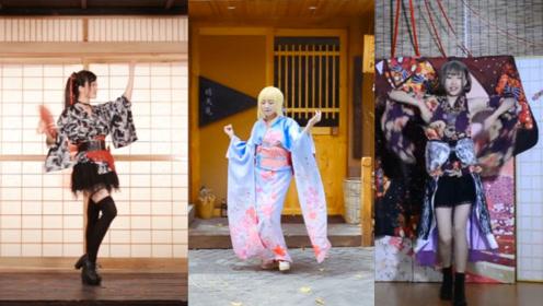 不同风格二次元美女同框跳舞,却舞出了不同风格