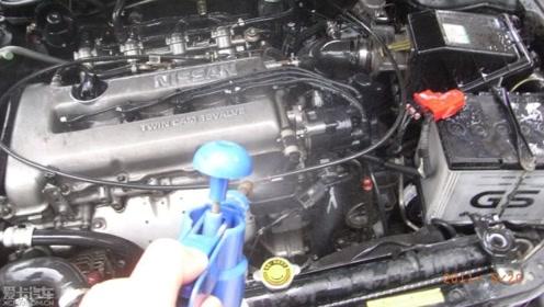 汽车发动机舱可以用水洗吗?看看老司机是怎么操作的,免得出问题