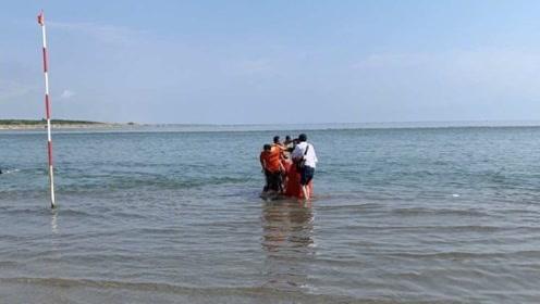 江映蓉海边拍MV险出事 提醒大家海边需谨慎