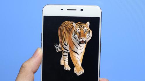手机打开这里,有人解锁你的手机,就会跳出一只大老虎,很实用
