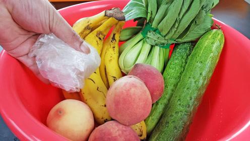 蔬菜和水果怎么保鲜?一个盆子能搞定,方法简单又实用,试一试吧