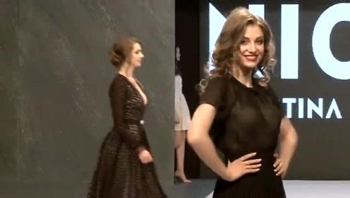 神秘黑裙美观大方,别致有型的设计,尽显韵味十足!
