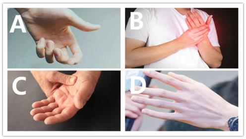 心理测试:你最想牵哪个男孩子的手?测你会不会嫁给暖男