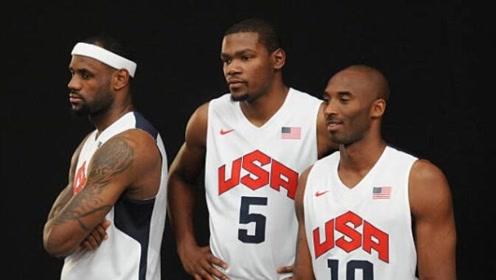 科詹杜同队联手!这样的美国男篮队内赛太劲爆