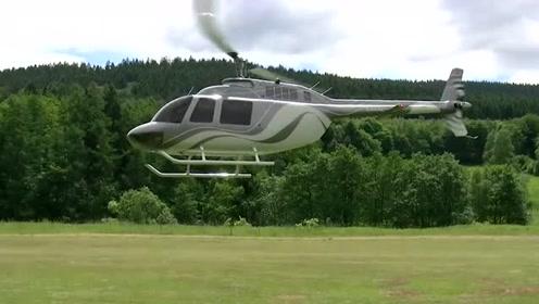 这是我见过最大的遥控直升机,真让人大开眼界!