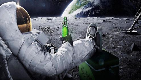 如果将一桶水,倒在月球上会发生什么?长见识了