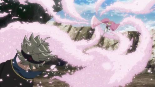 米莫莎的哥哥找到了阿斯塔,发动了魔法,阿斯塔受了伤跑进了洞里