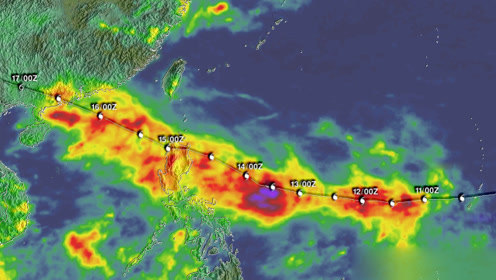 台风的移动路线,是如何预测的?涨知识了