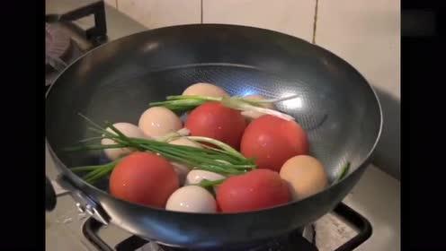 最原汁原味的番茄炒蛋!有谁这样做过吗?还能下得了嘴啊!