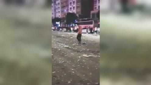 辽宁北票一饭店液化气泄漏引发爆炸 已致4死16伤
