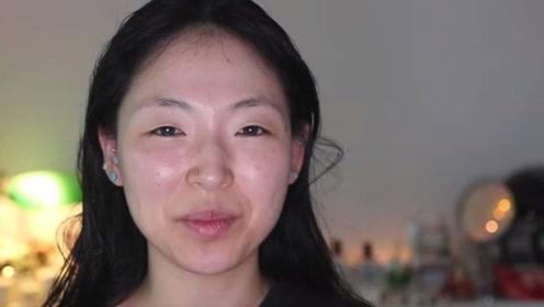 别眨眼,这个韩国女人的化妆手法,比你开10级美颜还要厉害!