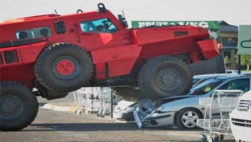 世界上最不可阻挡的车辆,防爆防弹零弱点,越野迷没人不认识它