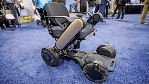 轮椅也有黑科技,48个滚轮全方向转弯,一个电话随叫随到
