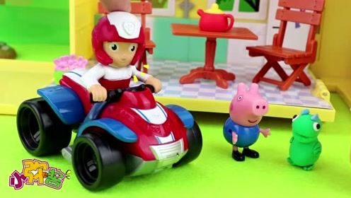莱德毛毛将乔治带回家里 乔治回忆被陌生人抓走的情景 玩具故事
