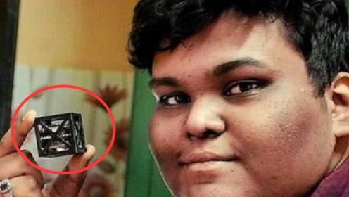"""印度18岁小伙,发射世界最小""""3D卫星""""成为印度首席航天专家"""