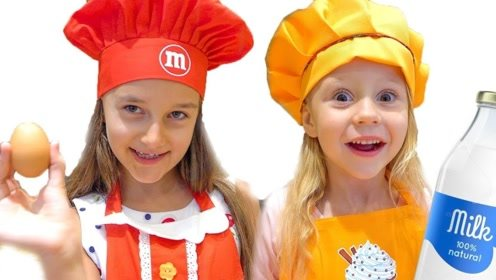 姐妹俩都觉得自己最优秀,爸爸想了个办法,萌娃开始才艺比赛!