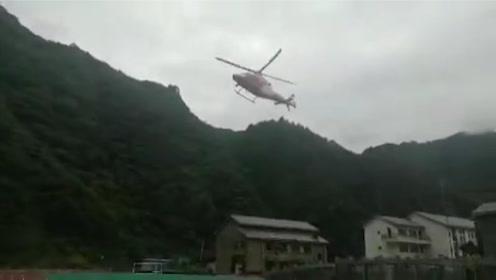 96人被困8人失联!陆航部队紧急调派直升机火速转移被困群众