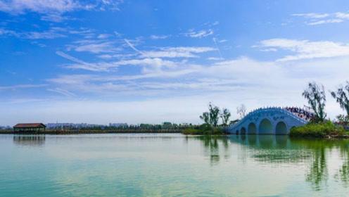 西安利用污水厂打造大湖,足有1500亩,名字听过就忘不了