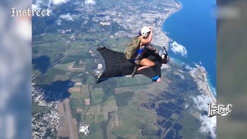 骑着个人在高空翱翔,这也太爽了吧