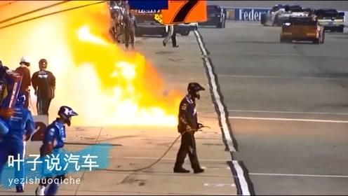F1比赛堪比修罗场,千奇百怪的事情都会发生