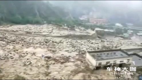 祈福!汶川暴雨,已致8人遇难23人失联