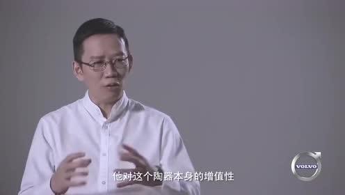 柳传志带吴晓波参观历史照片,说做企业,就像做一件瓷器一样