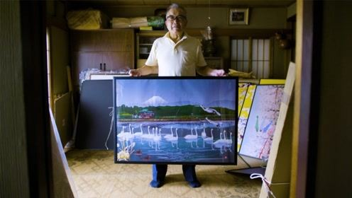 Excel还能画画?日本老人连夺三届冠军,画作被美术馆收藏