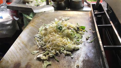 40元一份的铁板炒菜,在香港居然还算便宜?看到份量大家沉默了