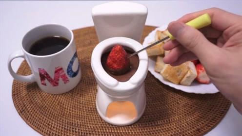 日本小哥挑战马桶火锅,锅底居然是巧克力,口味果然刁钻