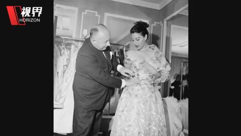 1950年模特走台珍贵画面曝光 有些模特腰比头还细