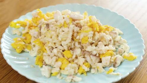 教你不用黄花鱼就可以做的赛螃蟹,懒人必备做法,材料便宜营养高