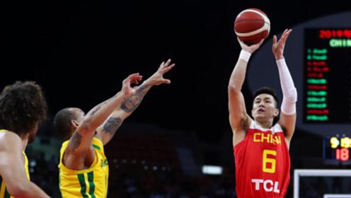 中国VS巴西对抗赛十佳球 大王晃倒对手暴扣郭艾伦快攻失衡打进