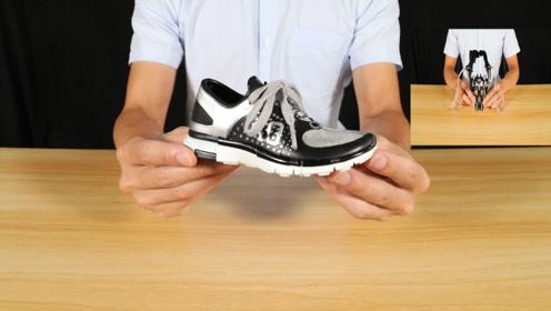 小小鞋子会变身!当变身完成的那一刻,瞬间觉得这只鞋子特别酷