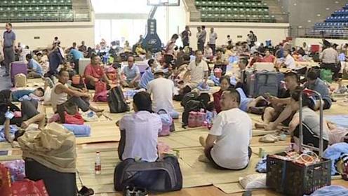 受台风白鹿影响,开往汕头列车全面停开,500多旅客滞留车站