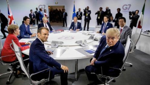 G7东道主马克龙处处给特朗普难堪 特朗普为何还笑脸相迎?